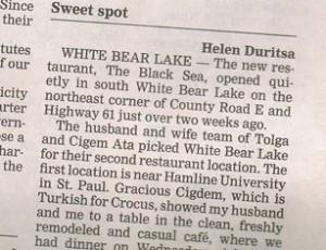 black sea restaurant white bear lake mn